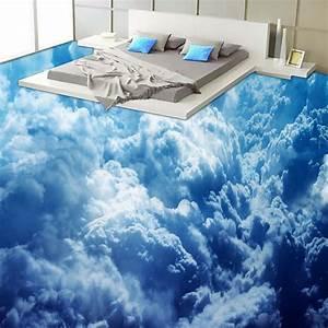 Quadratmeter Wand Berechnen : benutzerdefinierte selbstklebende boden wand modernen blauen himmel wolken 3d tapete wohnzimmer ~ Themetempest.com Abrechnung