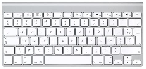 Different French Keyboard Layout