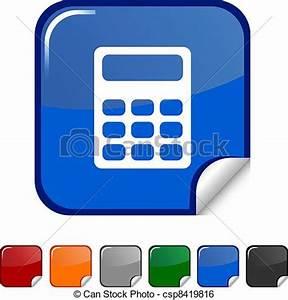 Dpi Berechnen : clip art vektor von berechnen ikone berechnen aufkleber ikone vektor csp8419816 ~ Themetempest.com Abrechnung