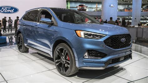 2019 Ford Edge St Is A Sporty Tworow Crossover Autoblog