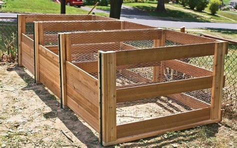 wooden compost bin diy compost bins to make for your homestead homesteading 1157