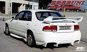 Mazda 626 Tuning Kit : rearbumper for mazda 626 1993 1997 avb sports car ~ Jslefanu.com Haus und Dekorationen