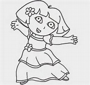HD Wallpapers Princess Dora Coloring Pages To Print