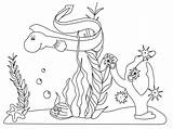 Ocean Coloring Pages Printable sketch template