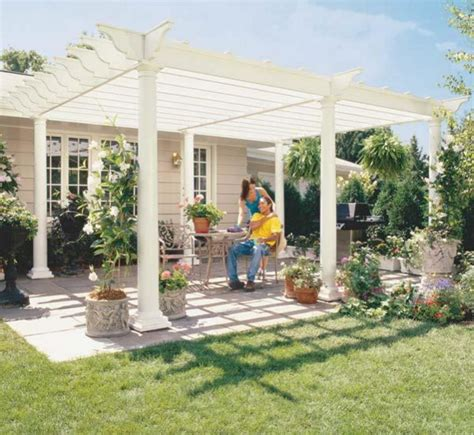 building a pergola on a patio pergola plans 20 diy ideas to add shaded sitting area home and gardening ideas