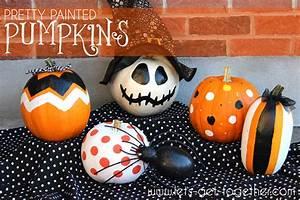 Pretty, Painted, Pumpkins