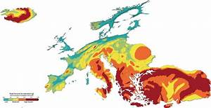 Danger zones: mapping Europe's earthquakes - Geographical ...