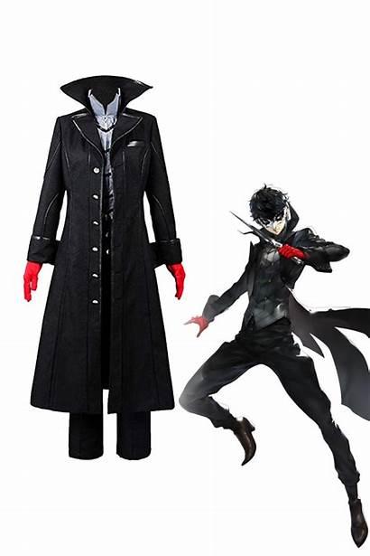 Joker Persona Costume Cosplay P5 Protagonist Easy