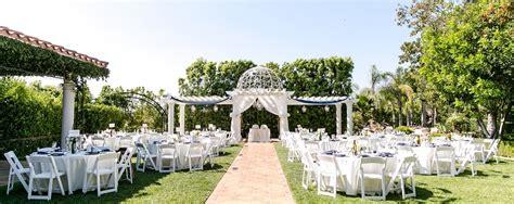 los angeles garden wedding venues
