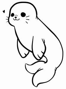 {F2U} Baby Seal Lines by littleAd0ptz on DeviantArt