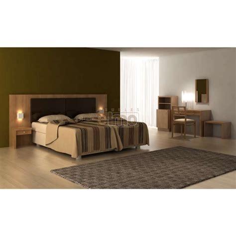 chambre bois massif chambre adulte spécial hôtellerie tête de lit bois massif h03