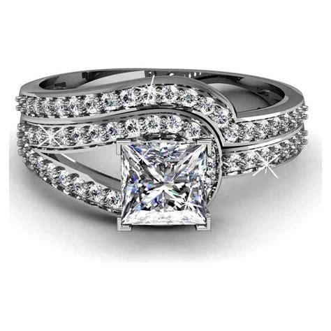 big cheap diamond engagement rings wedding  bridal