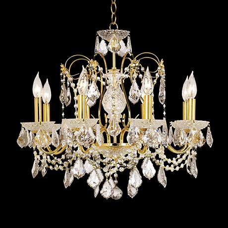 Moder Chandeliers by R Moder Wave Eight Light Chandelier 51188