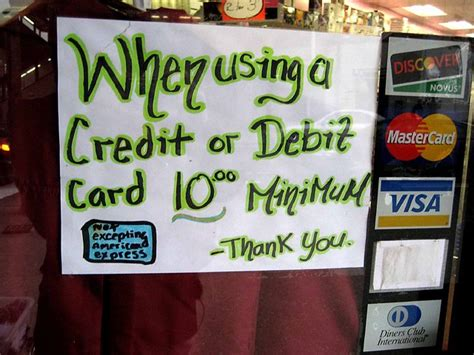 Some cards can charge a fee of 3% or 4% of the total amount transferred. Credit Card Minimum | I see this all the time up here in ...