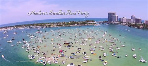 Party Boat Rental Daytona Beach Fl by Haulover Sandbar Miami Boat Party Affordable And Fun
