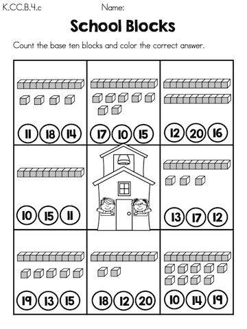 15 Best Images Of Base Ten Blocks Worksheets  Base Ten Blocks Template, Kindergarten Math