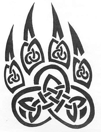 celtic wolf paw … | Tatuaje céltico