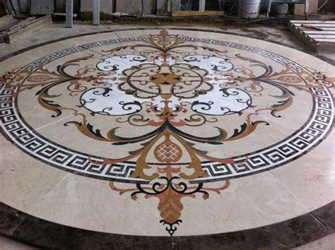 tile medallions for floors custom marble water jet medallion traditional wall and floor tile new york by garfield