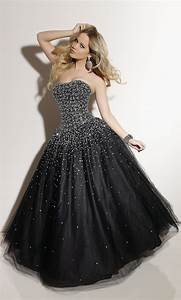 black sparkly prom dress awesome my style pinterest With black formal dress for wedding