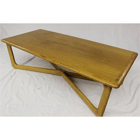 Mid century modern teak dining table w/pull out leaves. Mid Century Modern Lane Oak Rare Coffee Table   Chairish