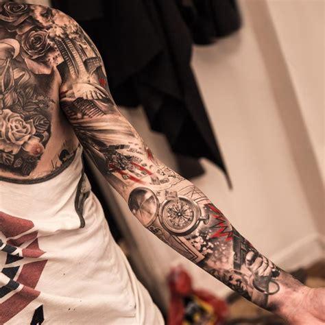 amazing tattoo  niki norberg ink sleeve tattoos
