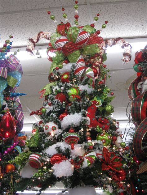 christmas cheer themed christmas tree store mission