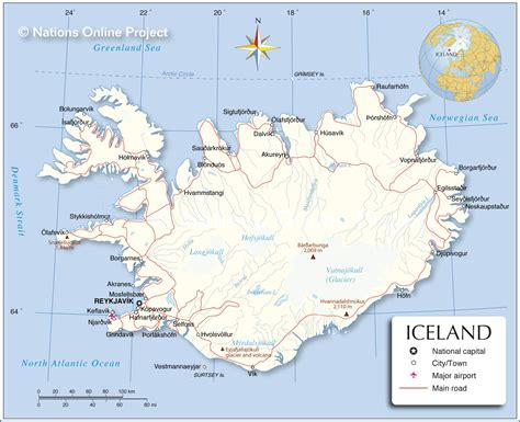 map  iceland nations  project