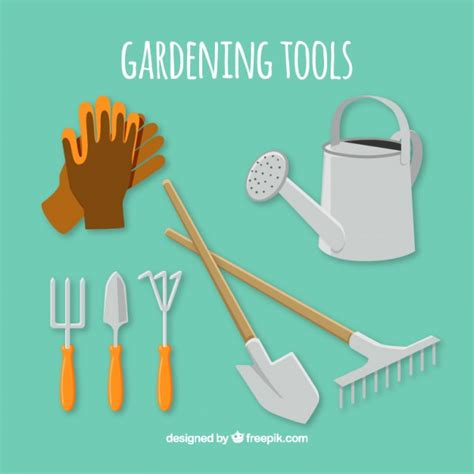 essential tools for gardening essential tools for gardening vector free download
