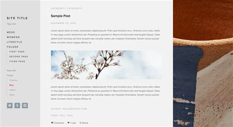 squarespace blog supply pages squarespace help