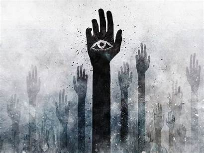 Weird Wallpapers Backgrounds Dark Evil Eye Amazing