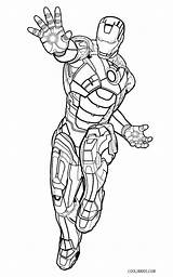 Iron Coloring Man Pages Printable Cool2bkids sketch template