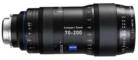 with carl zeiss lens carl zeiss launches cz 2 70 200 t2 9 compact tele zoom