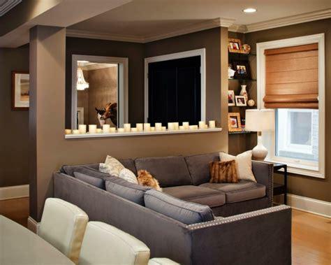 canapé ancien cuir le brun en tant que déco salon 50 inspirations cool pour
