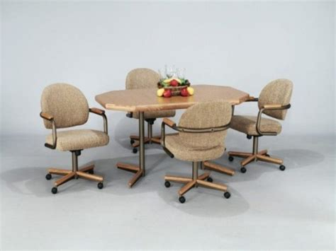 Lovely Dining Chairs On Casters Black Dining Chairs On