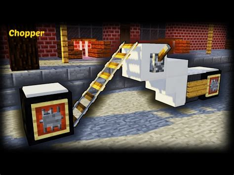 minecraft motorcycle minecraft how to make a chopper motorcycle minecraft