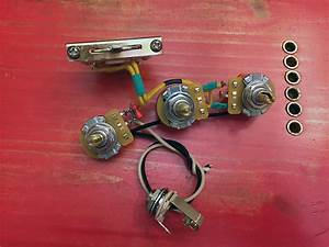 Prewired Stratocaster Control Wiring Harness