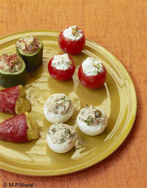 site de recettes cuisine mini farcis pour 6 personnes recettes à table