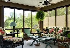 Choosing sunroom furniture to match your design style for Ideas for sunroom furniture