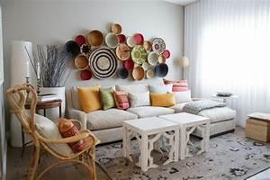 Deko Wohnzimmer Wand : afrika deko 45 sehr interessante fotos ~ Lizthompson.info Haus und Dekorationen