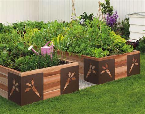 decorative raised garden bed gardening