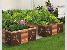 Decorative raised garden bed Gardening Pinterest