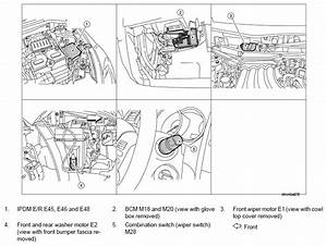 2011 Nissan Versa Windsheild Wipers Motor  When My Wipers