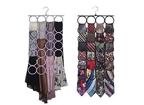 tie rack closet door organizer the no snags best space