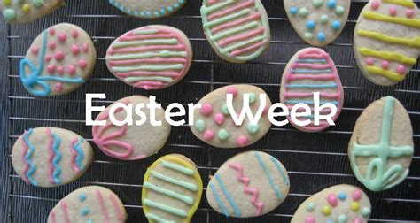{ This Girl Loves To Talk } Easter Week  Easter Countdown Calendar