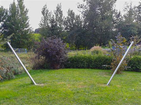 Hängematte Aufhängen Ohne Baum by Gestell Pfosten Aus Edelstahl F 252 R H 228 Ngematten Inox Deluxe