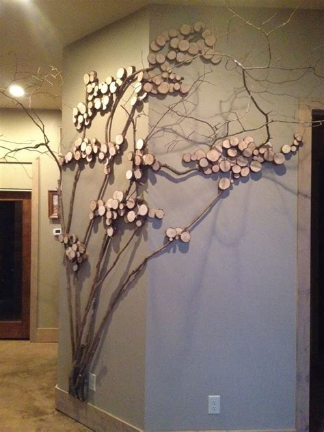 home decor for walls tree twig for wall decor wall with mountain