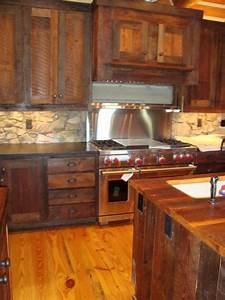 evolution of rustic live edge wood littlebranch farm With furniture board kitchen cabinets