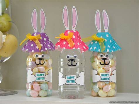 easter projects family crafts and recipes easter crafts easter bunny plastic candy jar