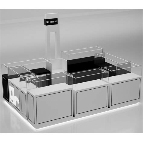 jewelry kiosk  display counters design cases  sale