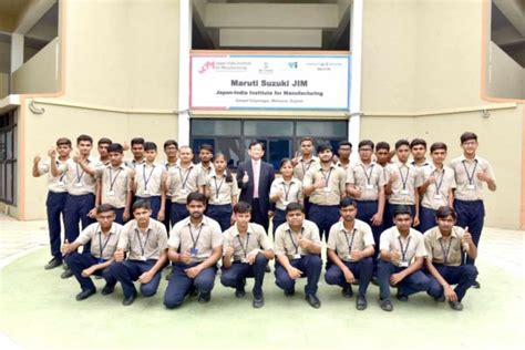 students earn jim certificate  maruti suzuki